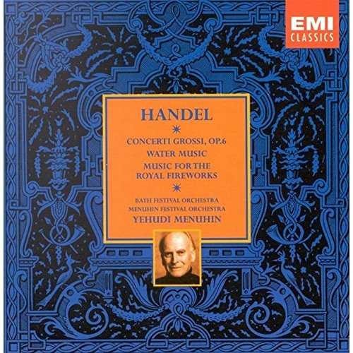 Menuhin - Handel (8 CD box set, APE)