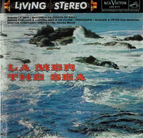 Munch: Debussy - La Mer, Ibert - Escales (DSD)
