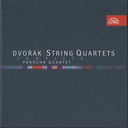 Panocha Quartet: Dvorak - Complete String Quartets (8 CD box set FLAC)