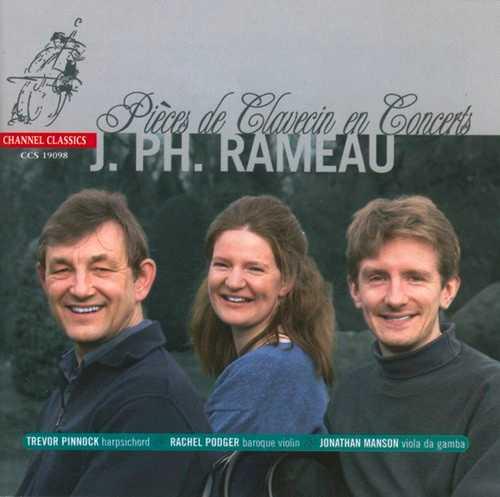 J.PH. Rameau - Pieces de Clavecin en Concerts (24/192 FLAC)