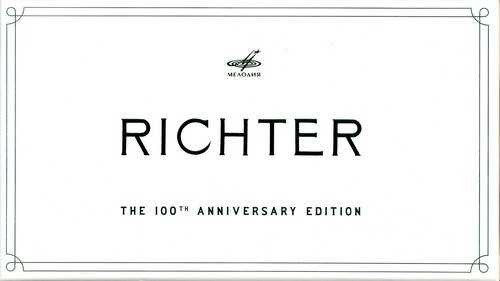 Richter:The 100th Anniversary Edition (50 CD box set FLAC)