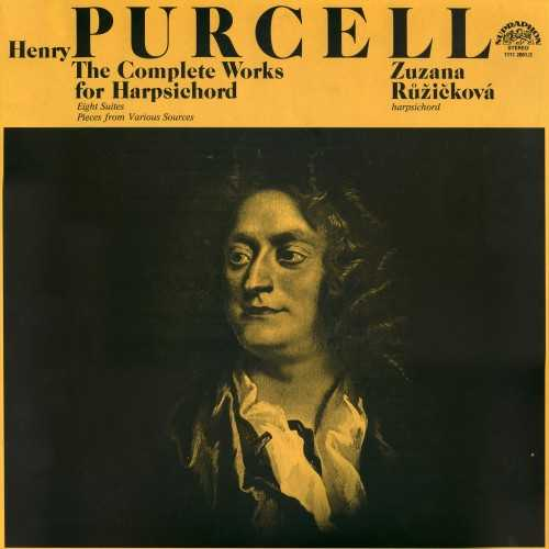 Ruzickova: Purcell - The Complete Works for Harpsichord (2 LP, 24bit FLAC)