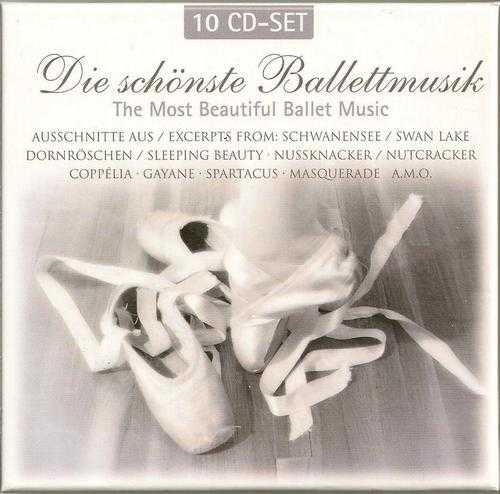 Die schönste Ballettmusik / The Most Beautiful Ballet Music (10 CD box set, FLAC)