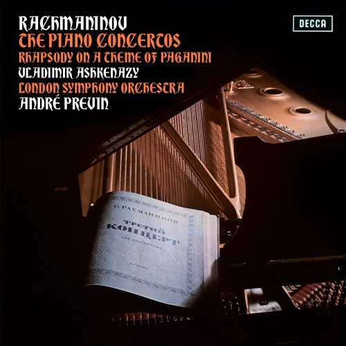 Ashkenazy, Previn: Rachmaninov - The Piano Concertos, Rhapsody On A Theme Of Paganini (24/96 FLAC)