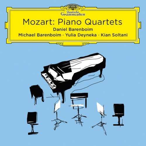 Barenboim: Mozart - Piano Quartets (24/96 FLAC)