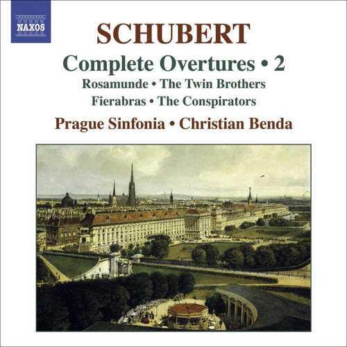 Benda: Schubert – Complete Overtures vol.2 (24/96 FLAC)