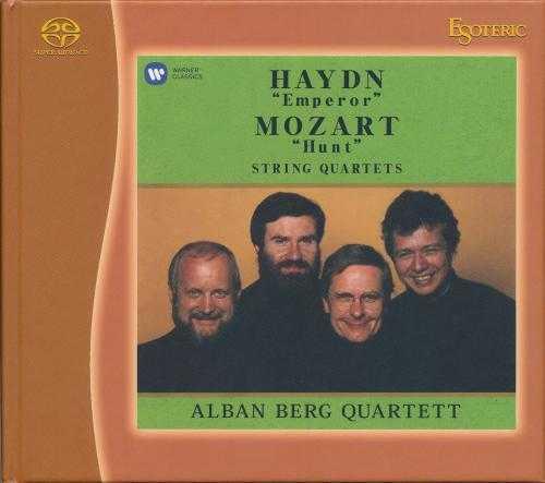 Alban Berg Quartett: Haydn - Emperor Quartet, Mozart - Hunt Quartet (SACD ISO)
