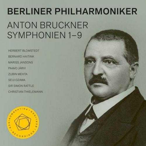 Berliner Philharmoniker: Anton Bruckner - Symphonies no.1–9 (24/48 9CD FLAC)