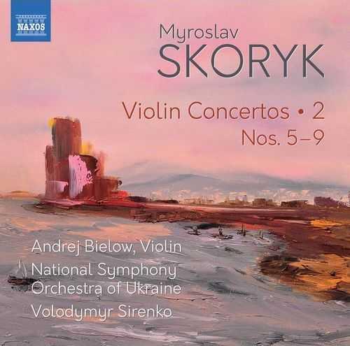 Bielow, Sirenko: Skoryk - Violin Concertos vol.2 (24/96 FLAC)