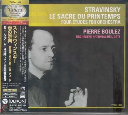 Stravinsky: Le Sacre du Printemps, Four Etudes for Orchestra (SACD ISO)