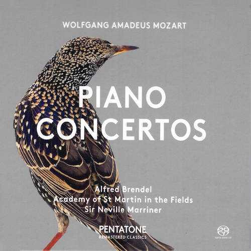 Marriner, Brendel: Mozart - Piano Concertos no.12, 17 (SACD ISO)