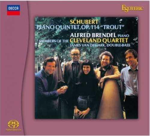 "Brendel, Schubert: Piano Quintet ""Trout"", Wanderer-Fantasie (SACD ISO)"