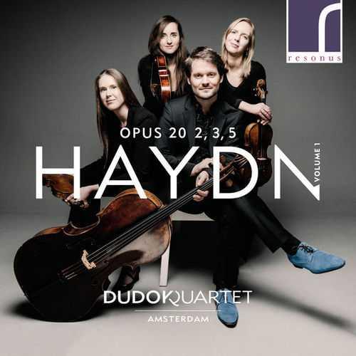 Dudok Quartet: Haydn - String Quartets op.20 vol.1 (24/96 FLAC)