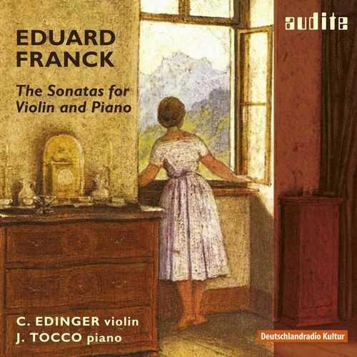Edinger, Tocco: Franck - Sonatas for Violin & Piano (24/96 FLAC)