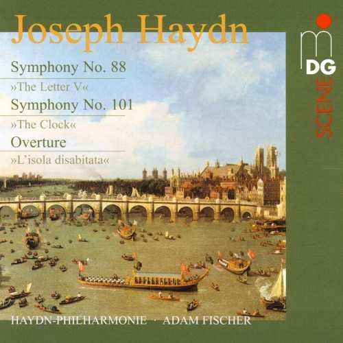 Fischer: Haydn - Symphonies no.88,101 (24/88 FLAC)