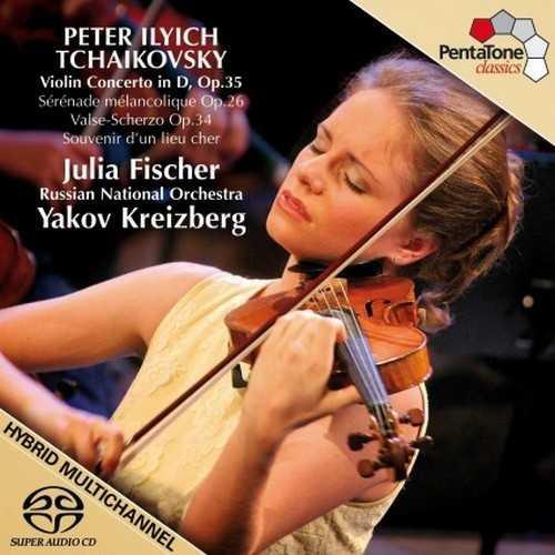 Fischer: Tchaikovsky - Violin Concerto in D op.35, Sérénade Mélancolique op.26, Valse-Scherzo op.34, Souvenir d'un lieu cher op.42 (24/96 FLAC)