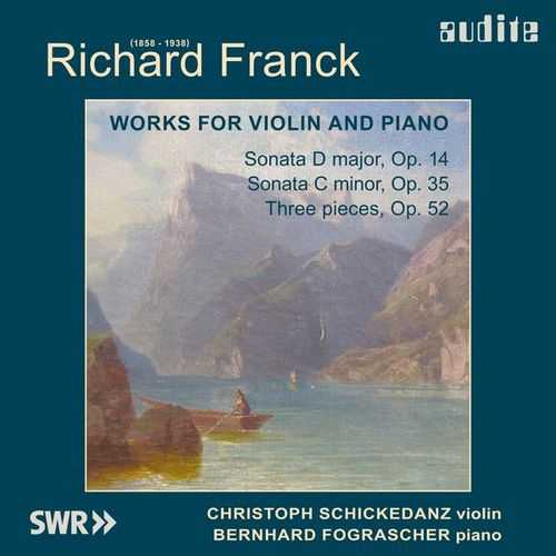 Fograscher, Schickedanz: Franck - Works for Violin and Piano (24/44 FLAC)