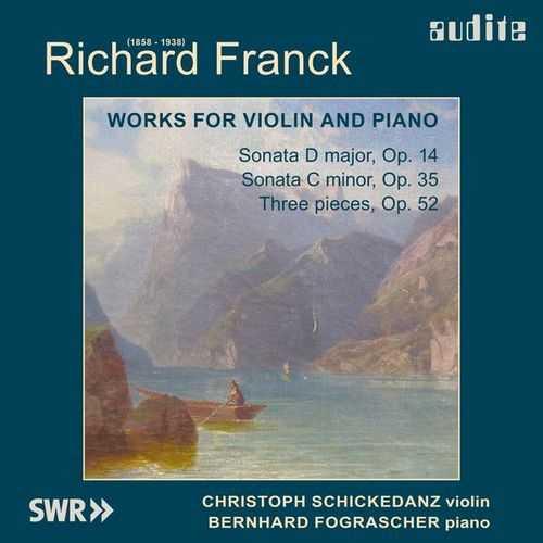Fograscher, Schickedanz: Franck - Works for Violin and Piano (24/44 FLAC)