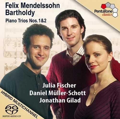 Fischer, Müller-Schott, Gilad: Mendelssohn - Piano Trios no.1,2 (24/96 FLAC)