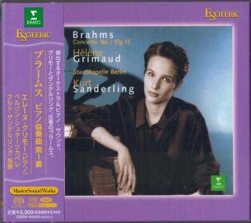 Grimaud, Sanderling: Brahms - Piano Concerto no.1 (SACD ISO)
