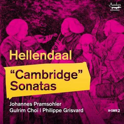 Grisvard: Hellendaal - Cambridge Sonatas (24/48 FLAC)