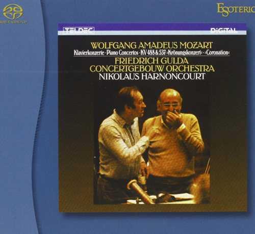 Gulda, Harnoncourt: Mozart - Piano Concerto 23 & 26 'Coronation' (SACD ISO)