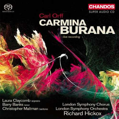 Hickox: Orff - Carmina Burana (24/88 FLAC)