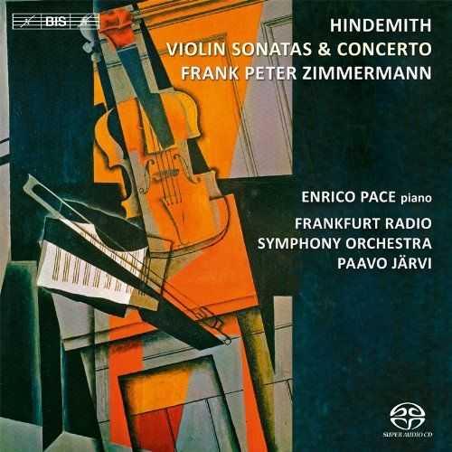 Järvi: Hindemith - Violin Sonatas & Concerto (24/96 FLAC)