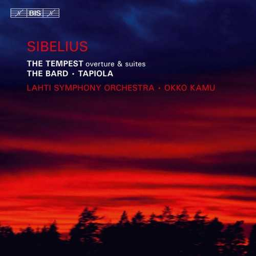 Kamu: Sibelius - The Tempest, The Bard & Tapiola (SACD ISO)
