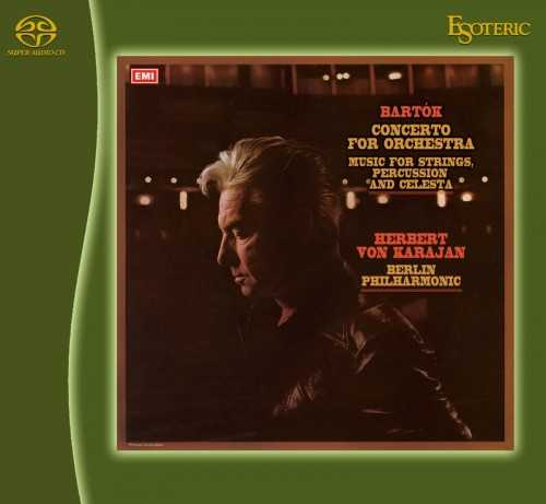 Karajan: Bartók - Concerto for Orchestra; Music for Strings, Percussion and Celesta (SACD ISO)
