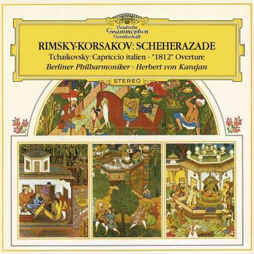 Karajan: Rimsky-Korsakov - Scheherazade, Tchaikovsky - Capriccio Italien, 1812 (24/96 FLAC)