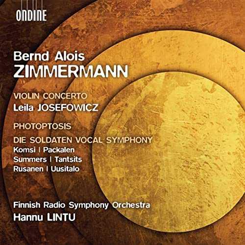 Lintu: Zimmermann - Violin Concerto, Photoptosis, Die Soldaten Vocal Symphony (24/48 FLAC)