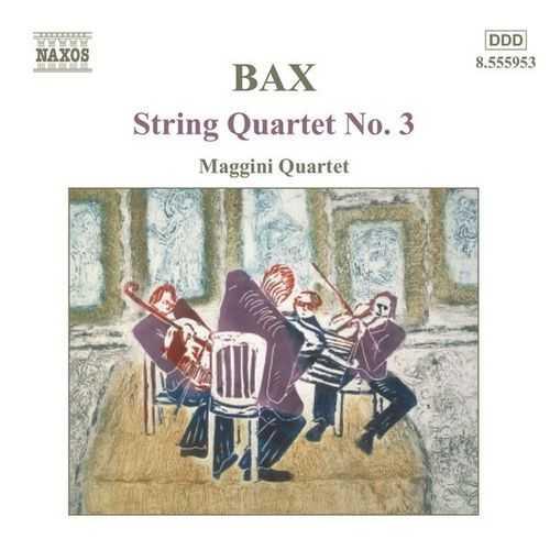Maggini Quartet: Bax - String Quartet no.3 (24/44 FLAC)