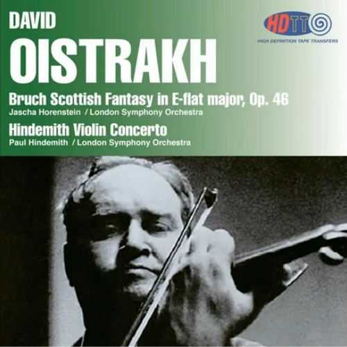 Oistrakh: Bruch - Scottish Fantasy in E-flat major op.46, Hindemith - Violin Concerto (SACD DSF)