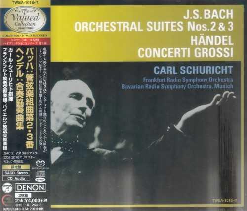 Schuricht: Bach - Orchestral Suites, Handel - Concerti Grossi (SACD ISO)