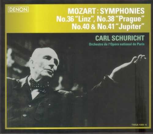 Schuricht: Mozart - Symphonies no.36, 38, 40, 41 (SACD ISO)