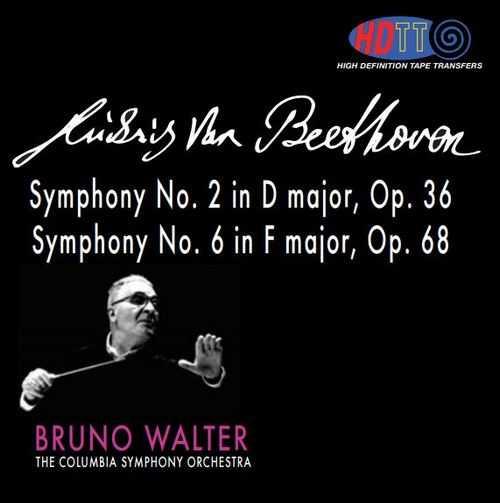 Walter: Beethoven - Symphony no.6 op.68, Symphony no.2 op.36 (DSD)
