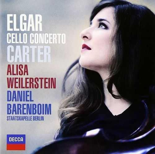 Weilerstein: Elgar, Carter - Cello Concertos (24/48 FLAC)