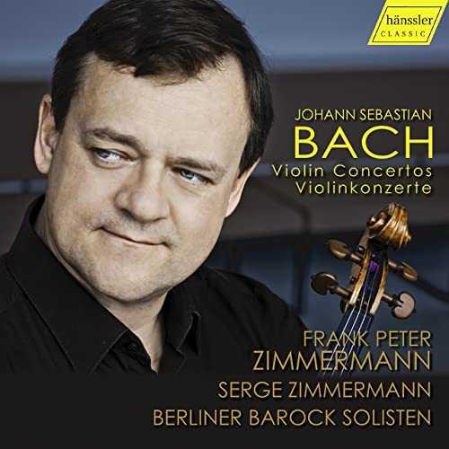 Zimmermann: Bach - Violin Concertos (24/96 FLAC)