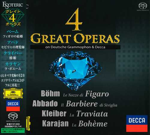 4 Great Operas (SACD ISO)