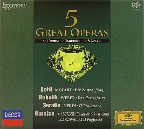 5 Great Operas on Deutsche Grammophon & Decca (SACD ISO)