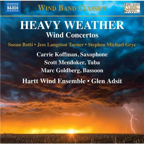 Adsit: Heavy Weather. Wind Concertos (24/44 FLAC)