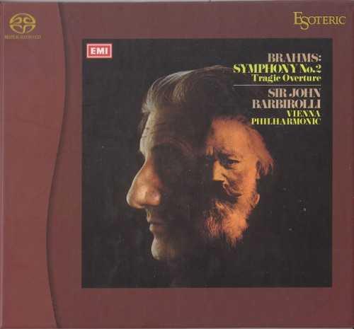 Barbirolli: Brahms - Symphony no.2, Tragic Overture, Academic Festival Overture (SACD)
