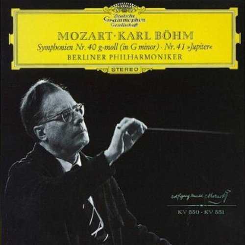 """Böhm: Mozart - Symphonies no.40,41 """"Jupiter"""" (SACD)"""