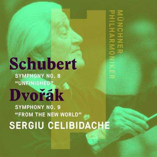 Celibidache: Schubert - Symphony no.8 in B minor 'Unfinished', Dvorak - Symphony no.9 in E Minor 'From the New World' (24/96 FLAC)