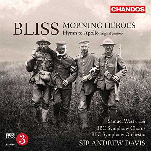 Davis: Bliss - Morning Heroes, Hymn to Apollo (24/96 FLAC)
