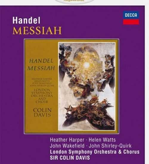 Davis: Handel - Messiah (BDMV)