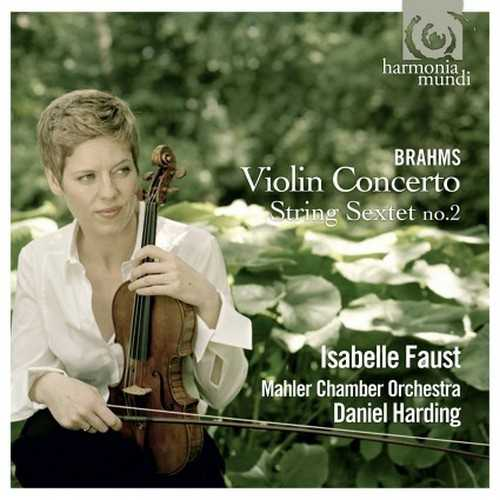 Faust: Brahms - Violin Concerto, String Sextet no.2 (24/44 FLAC)