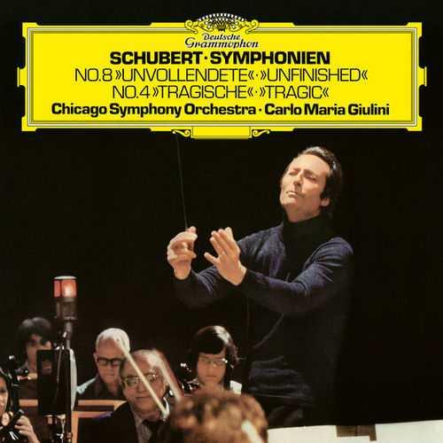 Giulini: Schubert - Symphonies no.4,8 (24/96 FLAC)
