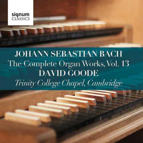 Goode: Bach - Complete Organ Works vol.13 (24/96 FLAC)